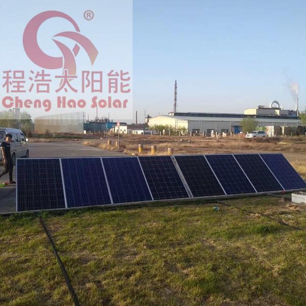 甘肃酒泉3kw学校太阳能发电机组,太阳能发电机