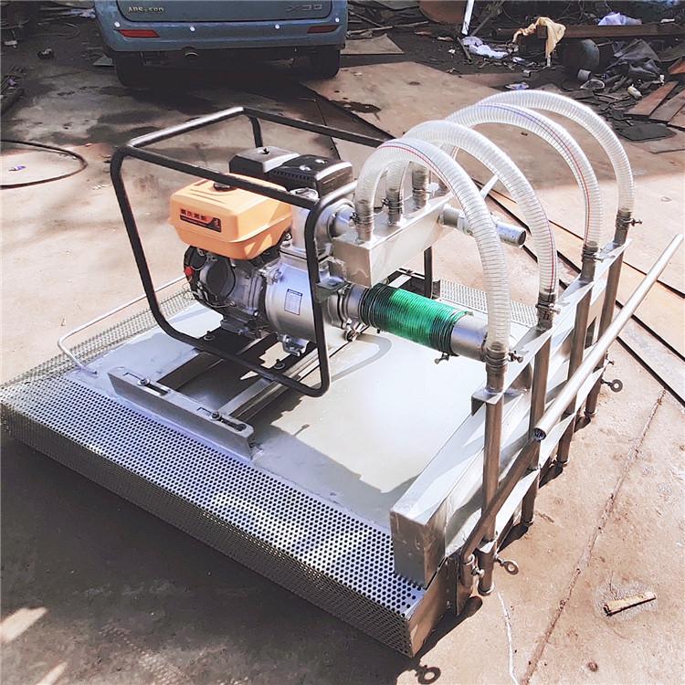 广东广州挖藕机 收藕机 自动采藕机 漂浮式挖藕机 冲藕机