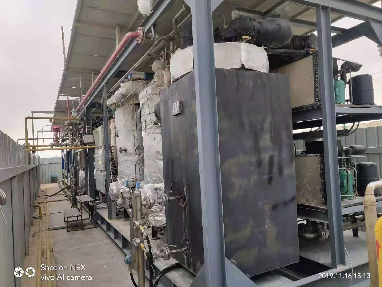 出售两套轻烃油分离制冷机  伴生气处理回收设备