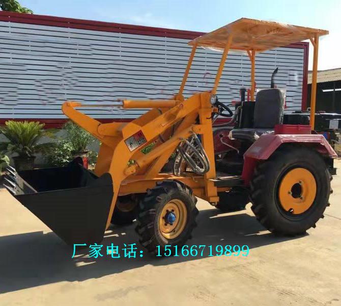 养殖农用四驱小型装载机室内电动小铲车新型轮式装载机柴油小铲车