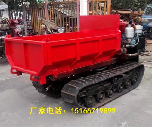 江苏农用爬山虎座驾式自卸搬运车全地形履带运输车图片大全