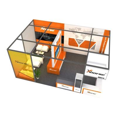 模块化绿色环保展台设计搭建